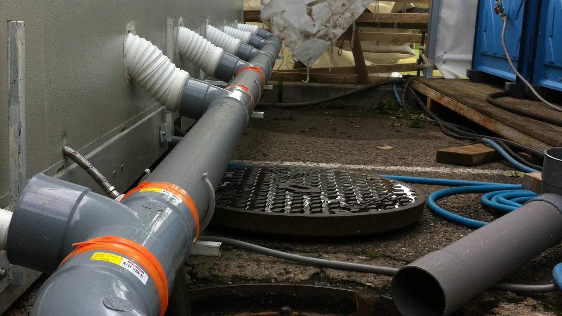 Système d'évacuation des eaux usées