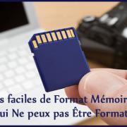 Comment formater une carte mémoire : la méthode qui fonctionne