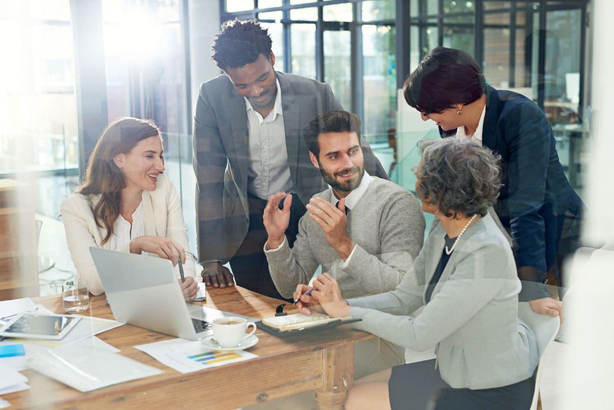 Séance de networking pour avis d'appel d'offres