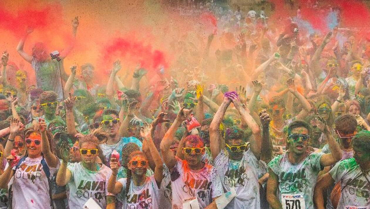 Le circuit de la Color Run