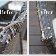 Comment réparer chaise en rotin?