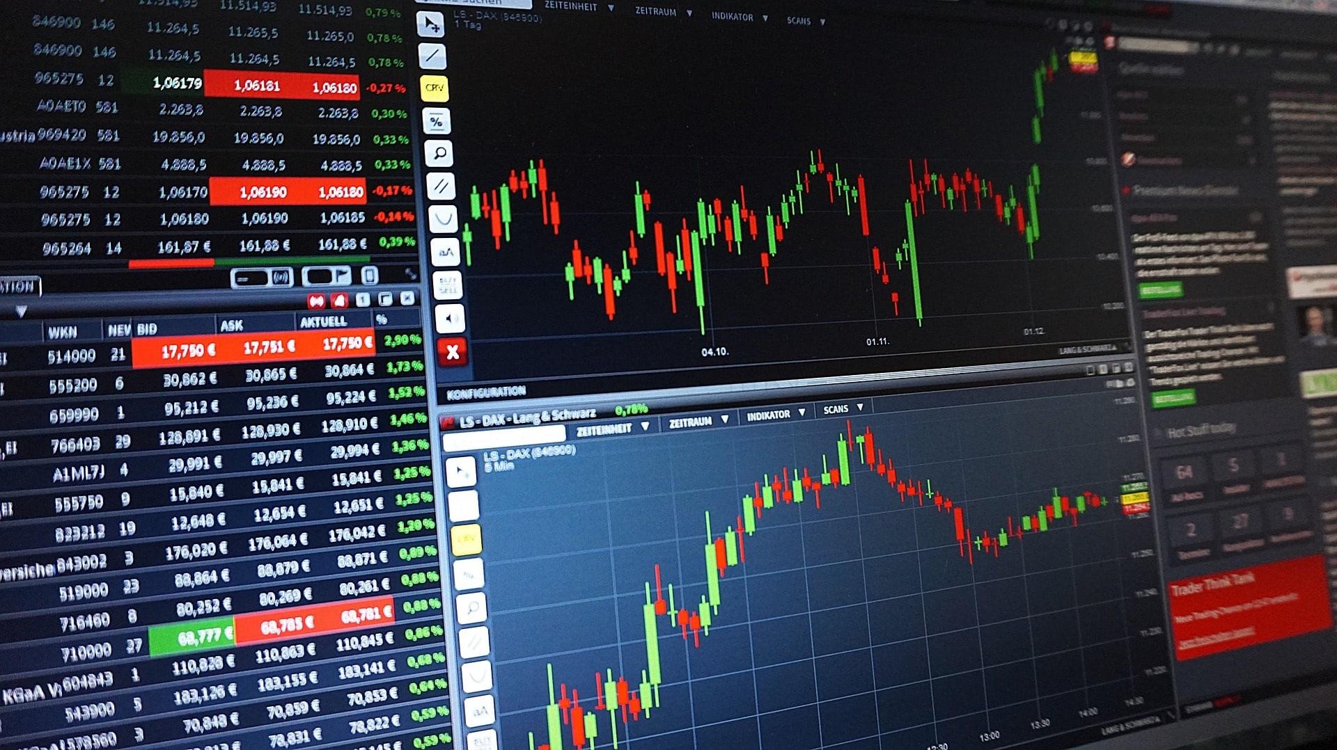 Interface de trading