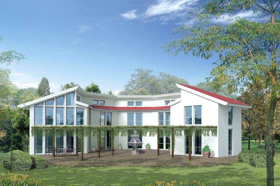 beau projet architecte pour grande maison