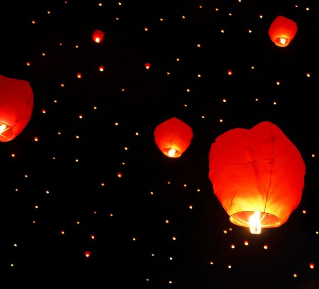 Déco de mariage originale : découvrez la lanterne volante