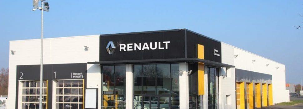 Zoom sur les produits et services d'un garage Renault