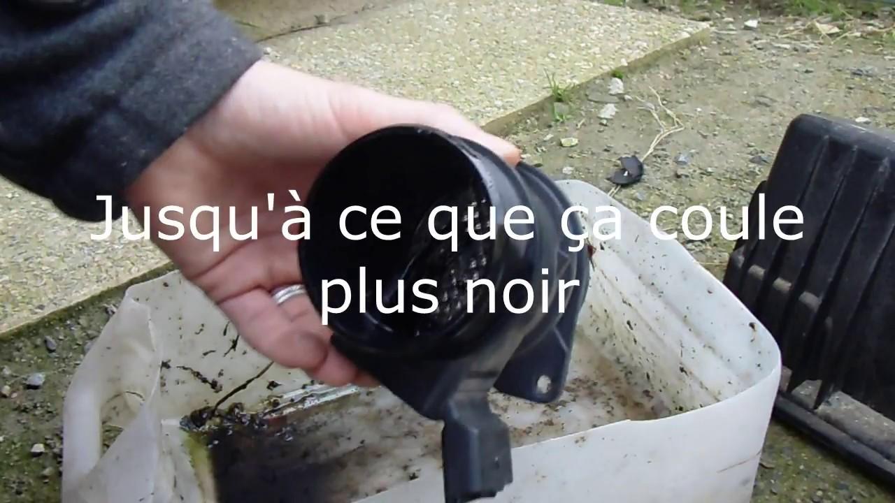 Comment nettoyer un débitmètre d'air ?