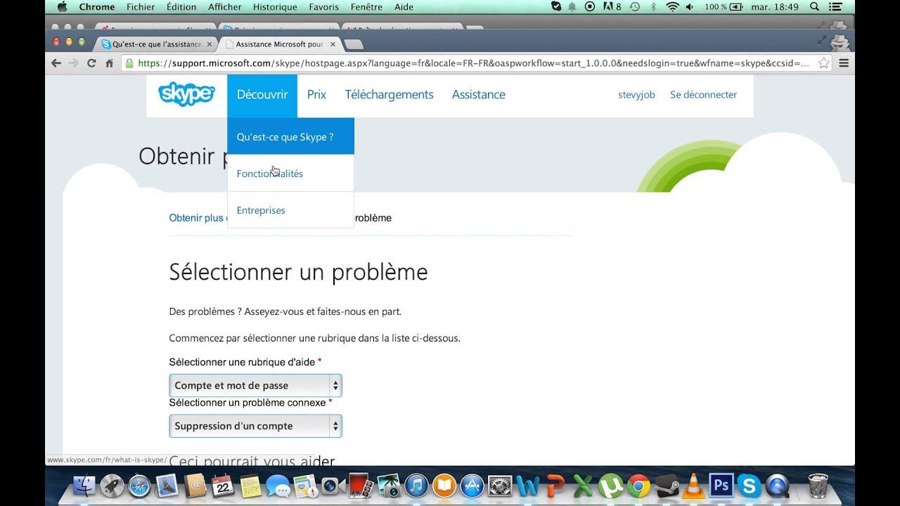 Comment supprimer Skype ?