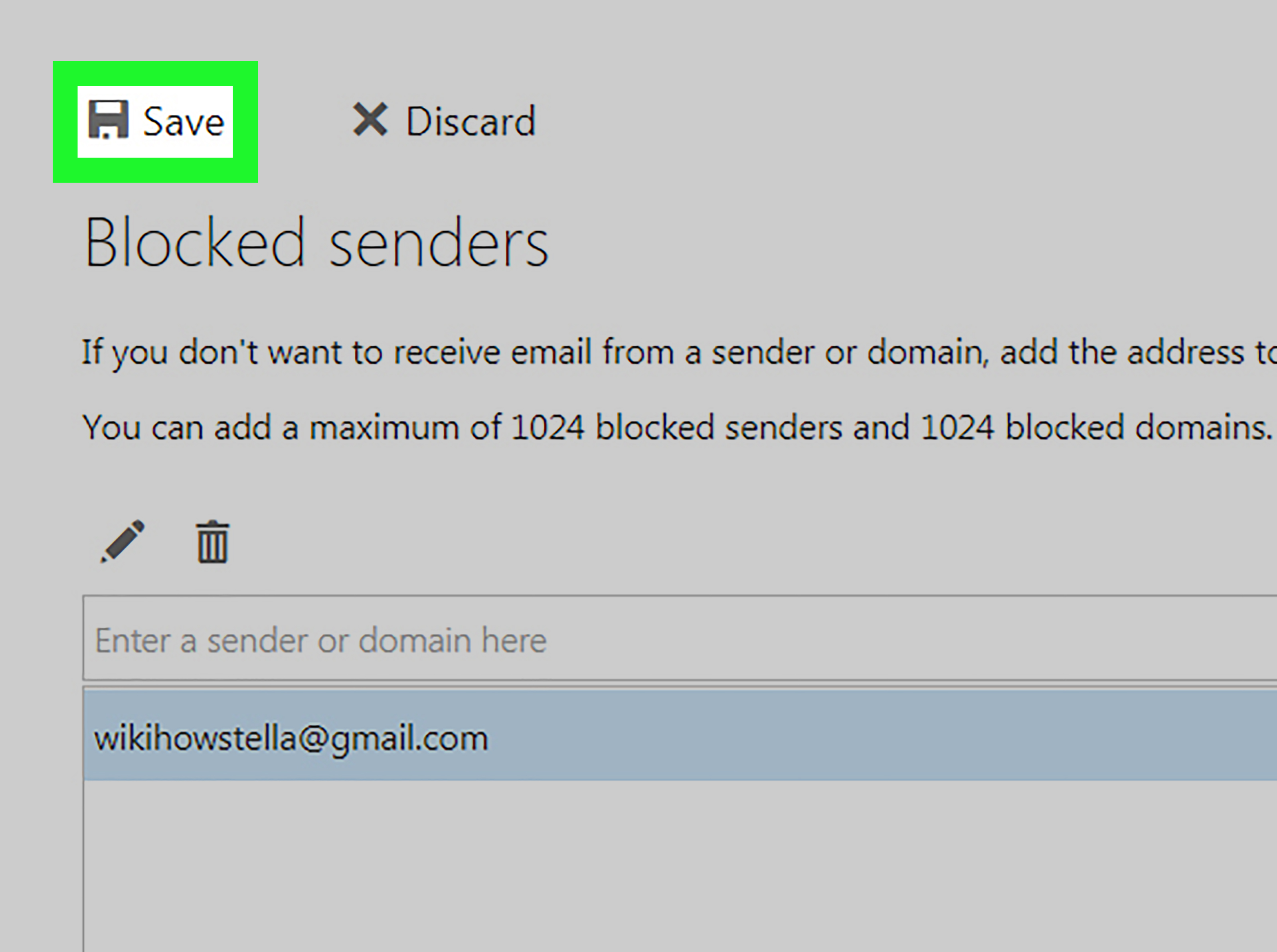 Comment bloquer une adresse mail ?